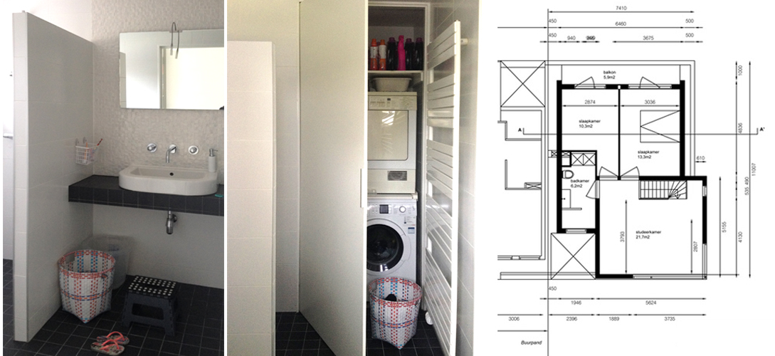 Wasmachine In Badkamer Wegwerken – Huishoudelijke Apparaten Gallery