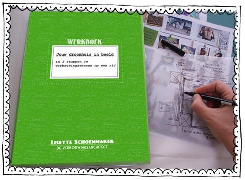 werkboek droomhuis in beeld